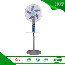 12 volt dc battery operated rechargeable stand fan parts motor