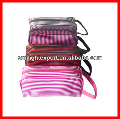 wholesale mini cosmetic bag with compartments