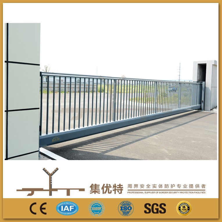 Automatic electric used to school trackless sliding gate