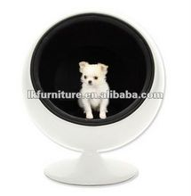Ball Shape Cat Chair With Fibre Glass Shell