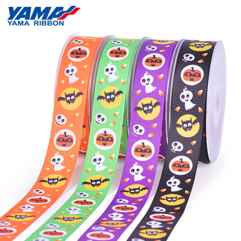 Yama stocked sale festival gift packing grosgrain Halloween ribbon