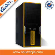 China shenzhen factory direct computer parts server case with transparent plastic computer case