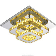 Oem Accept Crystal Led Ceiling Light Crystal Wall Light Made in China