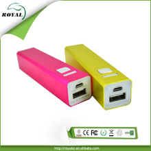 Hottet!!! colorful 2600mah portable power bank