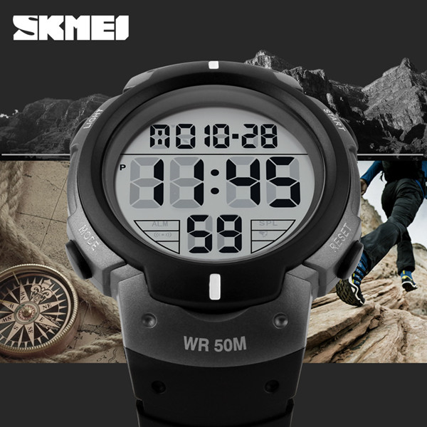 skmei hot sale cheap digital watches men sport popular in india