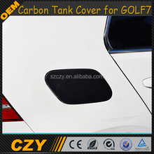 Carbon Fiber Car Fuel Tank Cover Cap for VW Golf VII MK7 GTI 2014-2015
