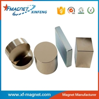 Strong Permanent Magnetic Rod, Neodymium Magnet Block,Epoxy Cylinder