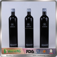 Aluminum Wine Bottles Wholesale Wine Empty 750ml Black Aluminum Wine Bottles