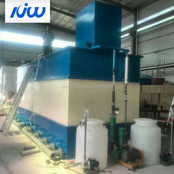 J1 Compact Waste Water Treatment Plant Factory Equipment Project Implementation