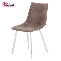 Manufacturer Wholesale Chinese Leather Dining Chair Modern