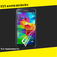 Factory wholesale PET high clear screen protector for Samsung Galaxy S5 mini G800 OEM/ODM
