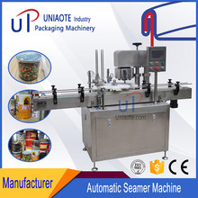 Seamer Tin Cans / Canned Food Cans Plastic Sealing Machine Canning Machine