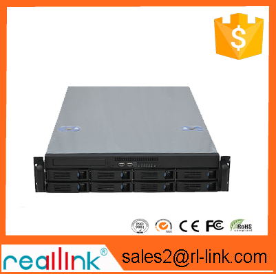 NAS-8bay beautiful shape is small and medium-sized enterprises to select the most perfect four set a 8 u nas storage