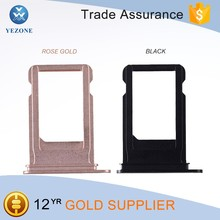 "Mobile Phone Spare Part for iPhone 7 4.7"" Sim Card Tray Holder Rose Gold"