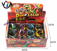 NEW product Large-sized Cute Magic Hatching Growing Pet Dinosaur Eggs For Kids