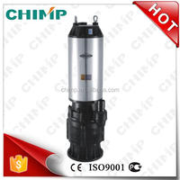 CHIMP QX series 5.5kW QX12.5-75/2-5.5 high quality cast iron/stainless steel multistage submersible water pump