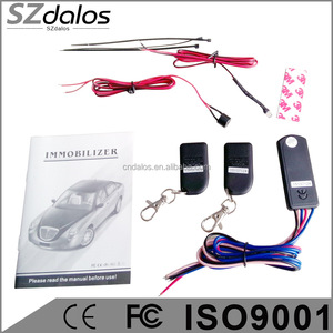 OEM Remote control wireless 2.4ghz rfid car alarm motorcycle immobilizer