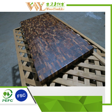 End Grain Paruet Acacia <strong>Wood</strong> Table