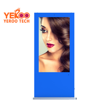 55 inch outdoor street photo booth lcd oem odm yeroo tech advertising bus stop interactive display