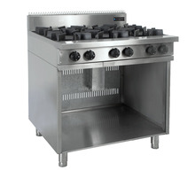 Commercial double burner/two burners stainless steel gas stove / gas cooker