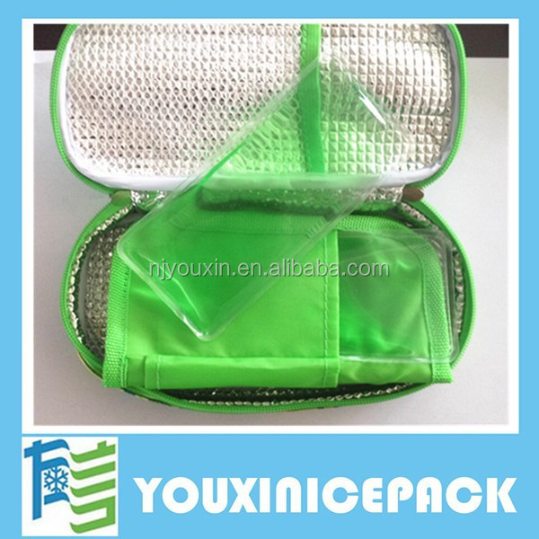 Cooler Bag for Insulin With Ice Gel Pack