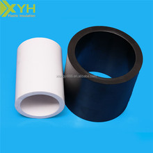 black and white 1m thick heat resistant Teflon Plastic rod/tube