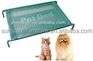 luxury Elevated dog bed pet wholesale with strong square tube metal frame