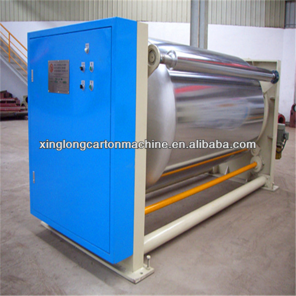 Corrugated cardboard single preheater/box packaging machine