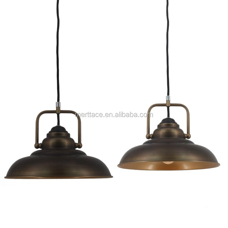 Antique old century industrial ceiling light with factory price