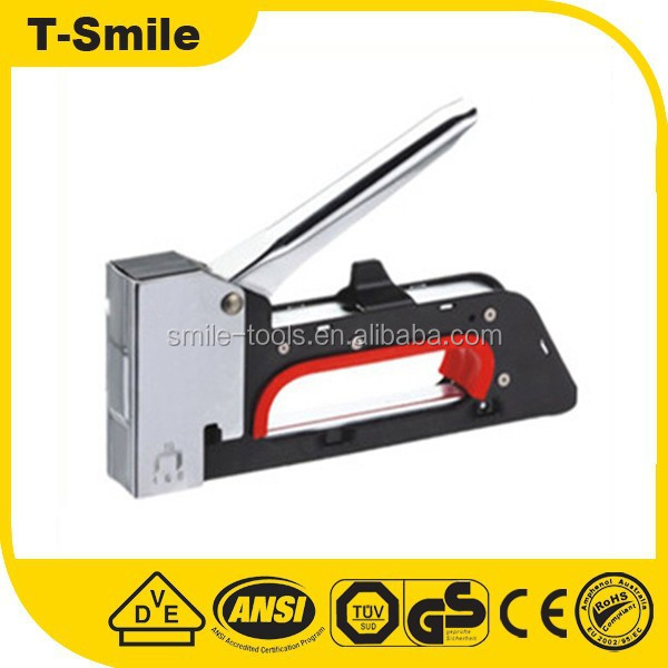 high quality professtional power tools manual fence staple guns
