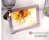 manufacturing wall mounted acrylic photo frames, plexiglass photo frames, acrylic frameless picture frame with screw