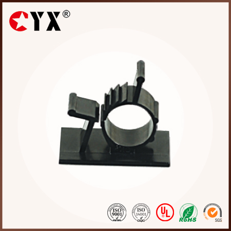 China suppliers black Nylon adjustable Cable Clamps