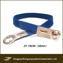 Interlocking buckle metal clasp elastic belt(ZY-19239)