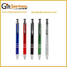 Promotional Customized Metal Ballpoint Pen, Cheap Metal Ballpoint Pen