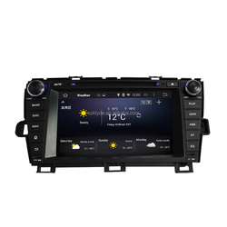Bluetooth-Enabled Built-in GPS MP3 MP4 quad core RK3188 16GB ROM 1GB RAM for PRIUS 2009-2013 left driving GPS DVD player
