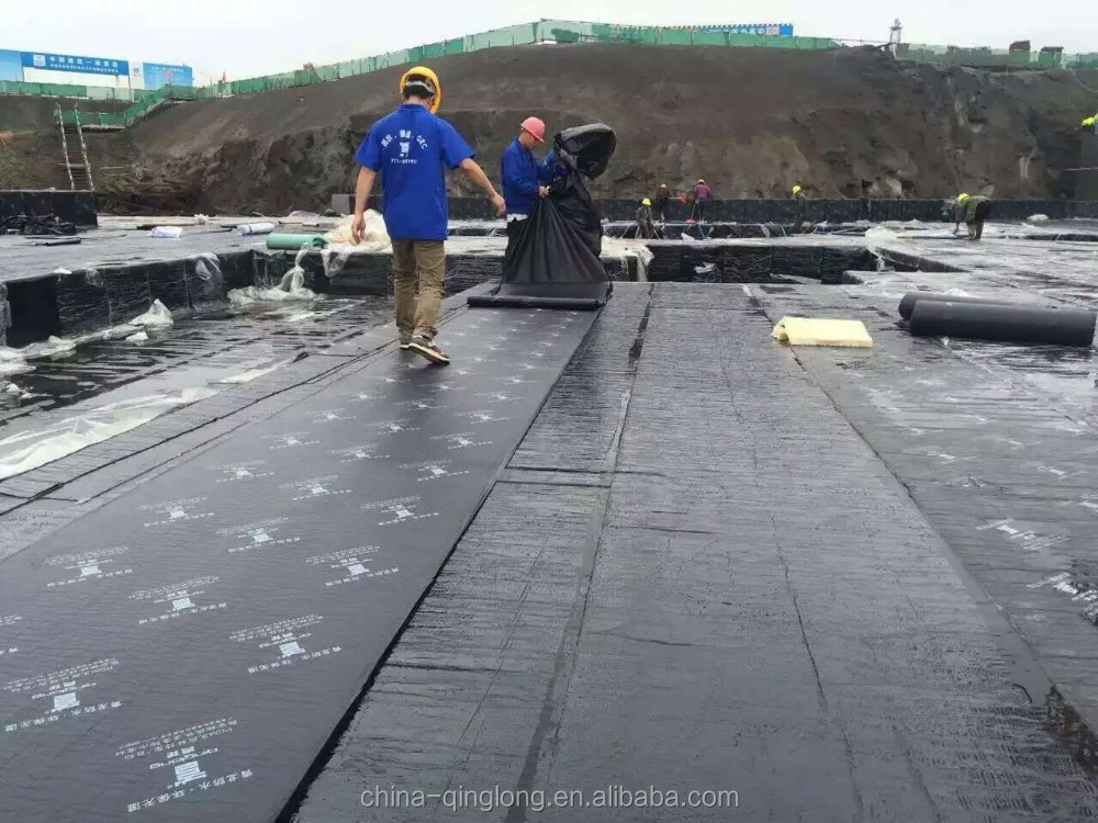 Self-adhesive modified asphalt bituminous roof Waterproofing membrane for concrete