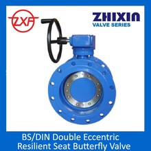 Double Flanged butterfly valve EN593,PN10/16,face to face BS EN558-1