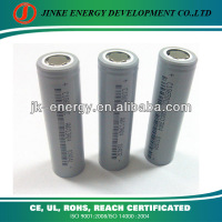 3.7v 2600mAh lithium ion 18650 rechargeable aa battery