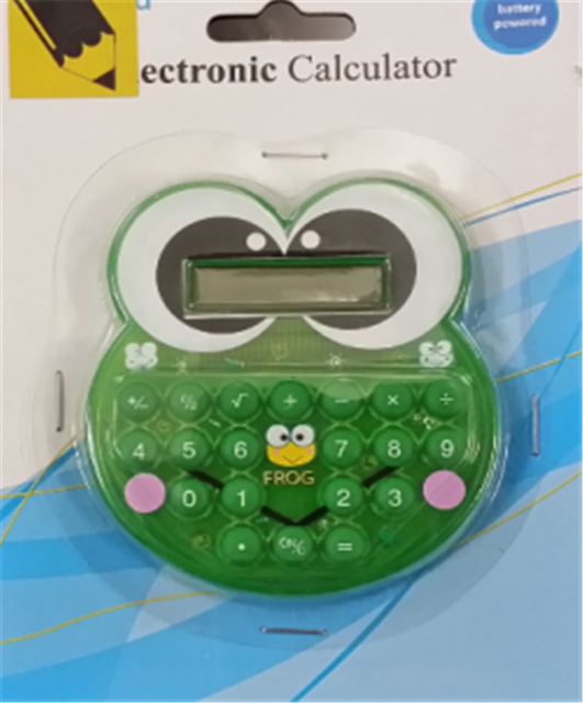 Cute Frog Decorative Calculator for Christmas