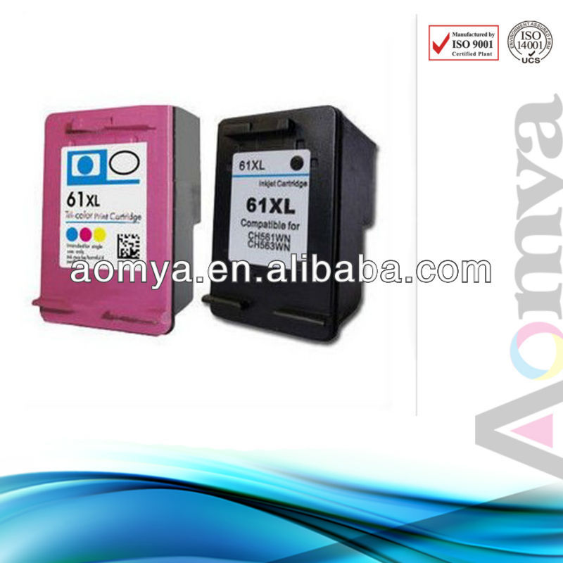 Aomya!! Ink Cartridge for HP 61xl ink cartridge Deskjet 1050 2050 3050 3054 1000 3000 Series