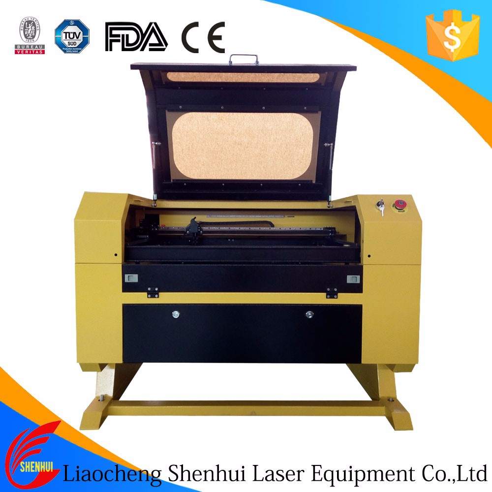 CE approved co2 laser cutting machine for invitation letters for craft wood