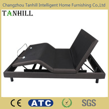 New promotion king size adjustable bed frame with massage function from China supplier