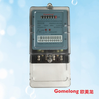 single phase two wire electric sub hour meter low cost power meter