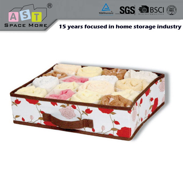 Top quality new arrival bra and underwear storage organizer box