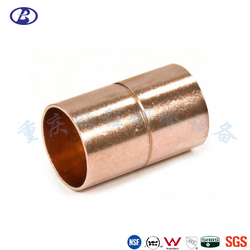 Copper Pipe Fitting 35mm Pipe Fitting Refrigeration Fitting Pipe Coupling