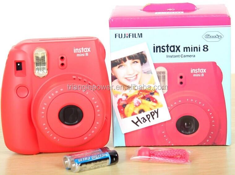 fujifilm fuji film instax mini 8 checki instant camera. Black Bedroom Furniture Sets. Home Design Ideas