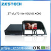 ZESTECH In Dashboard placement 7 inch car dvd for Volvo XC60 with dvd radio player