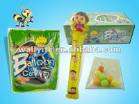 Inflated balloons candy toys