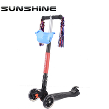 Most popular pink red childrens kids scooter for 3 year old boy