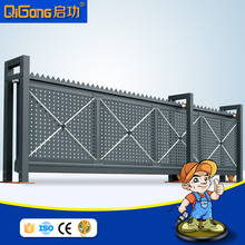 Custom Size Telescopic Sliding Gate for main gate QG-L2100A
